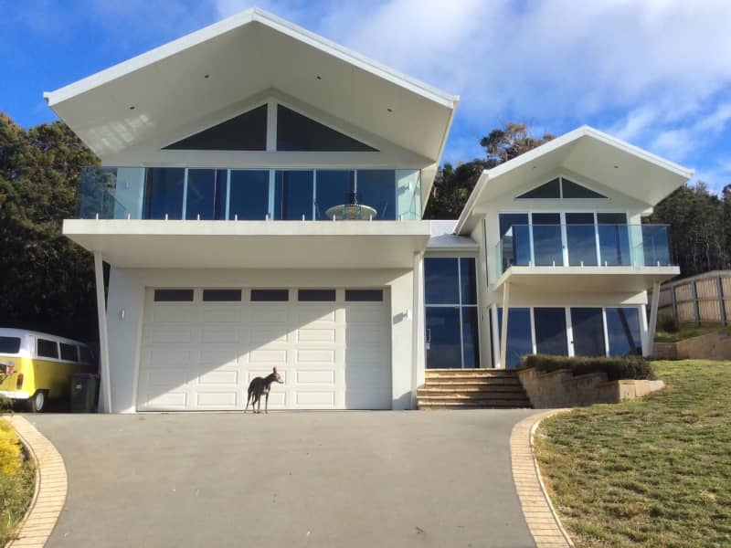 Housesitting assignment in Bicheno, Tasmania, Australia