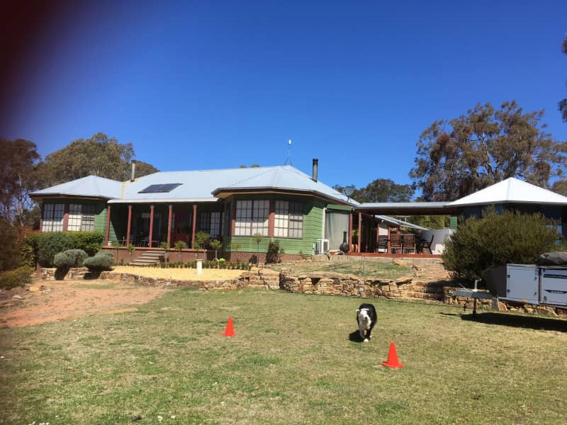 Housesitting assignment in Wamboin, New South Wales, Australia