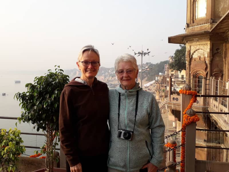 Helen & Valerie from Chapel en le Frith, United Kingdom