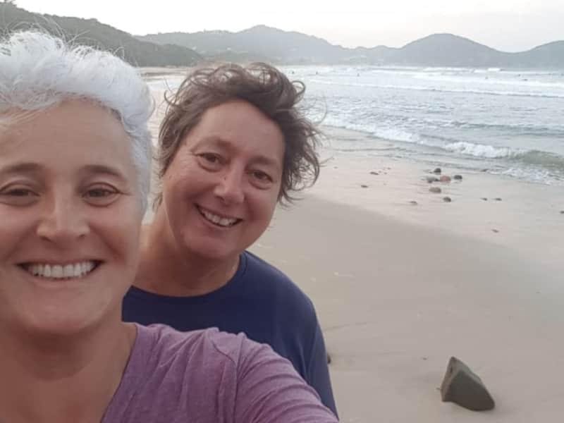 Marta & Lesley from Florianópolis, Brazil