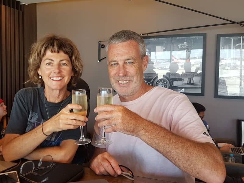 Leisa & Paul from Newcastle, New South Wales, Australia