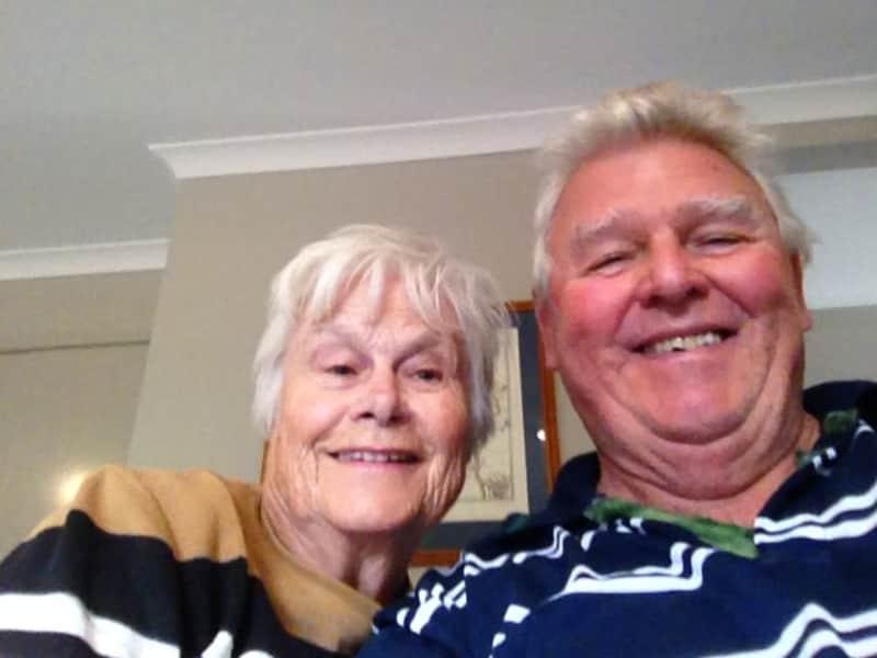 Francis & Margaret from Cobram, Victoria, Australia