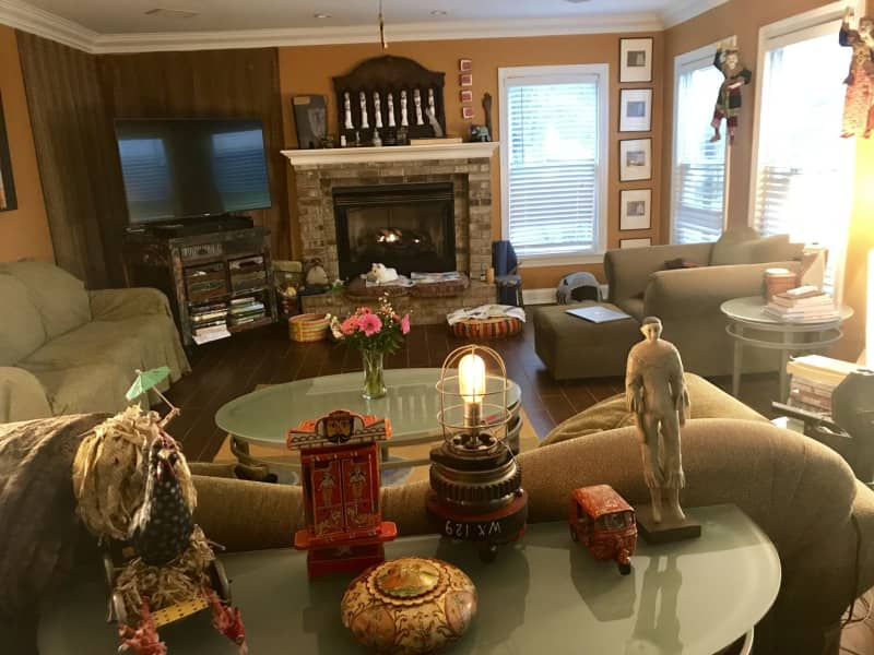 Housesitting assignment in Chattanooga, Tennessee, United States