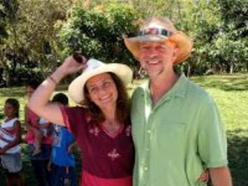J. & Caroline from Ecuador