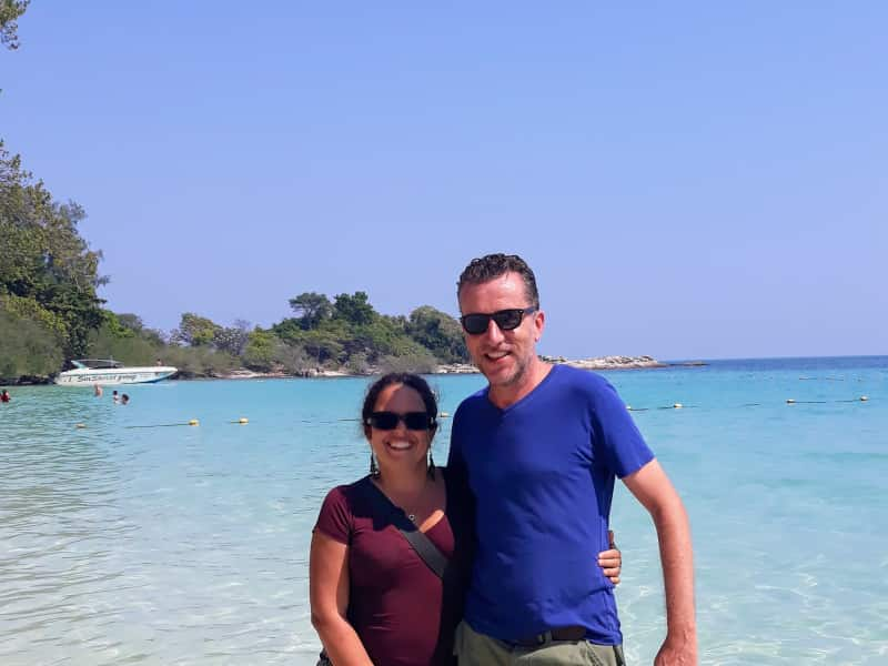 Stephanie & Geoff from Bang Tao Beach, Thailand