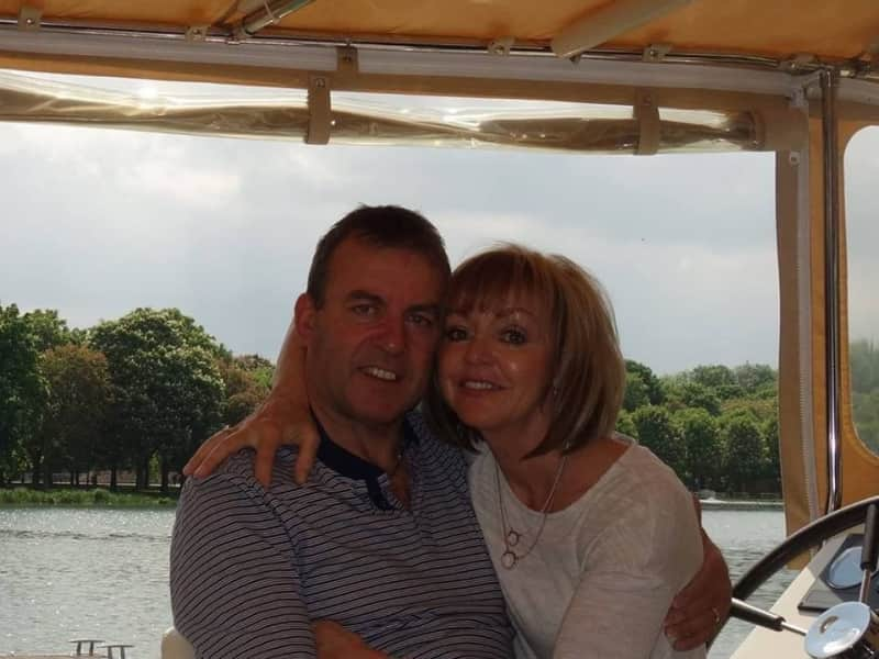 Jacqui & Chris from Bromham, United Kingdom