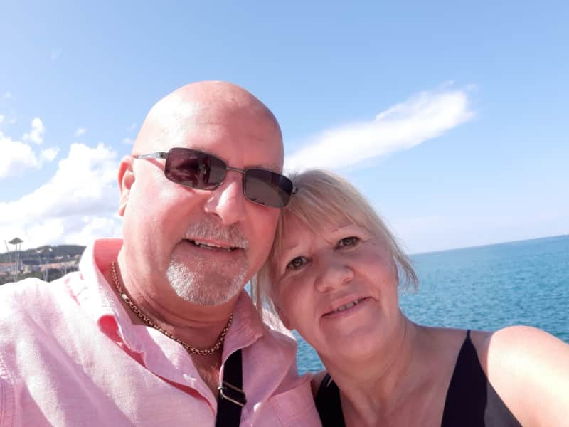 George & Vivien from Clitheroe, United Kingdom