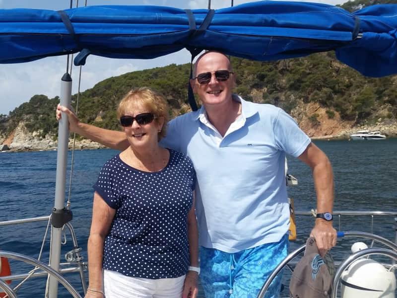 Jenny & Alan from Girona, Spain