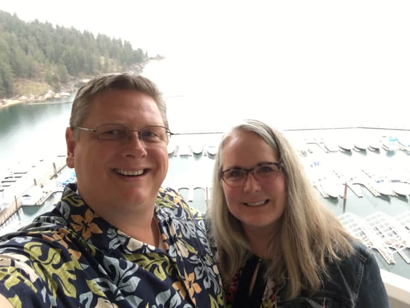 Ahren & Lori from Naples, Idaho, United States