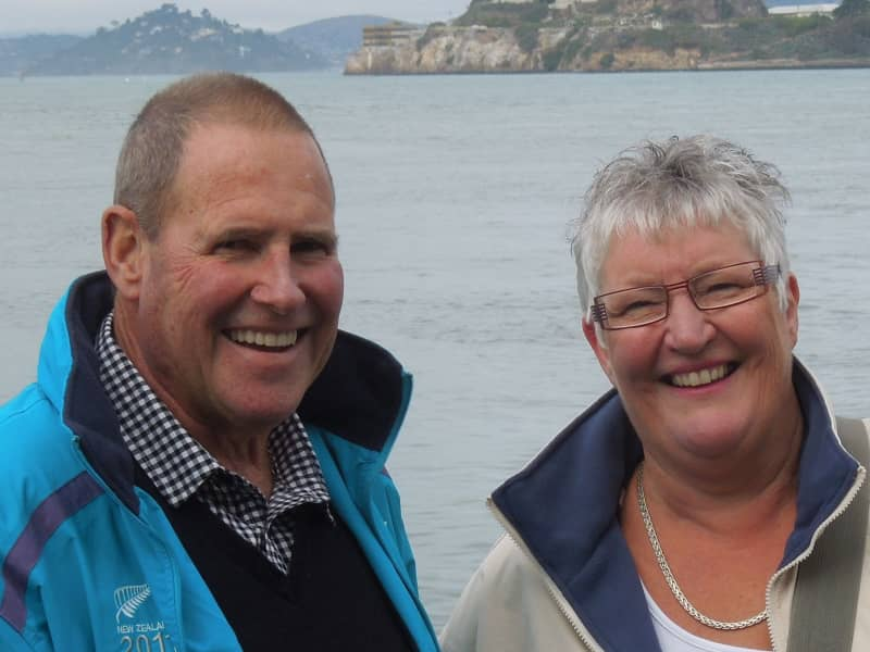 Jocelyn & Bruce from New Plymouth, New Zealand