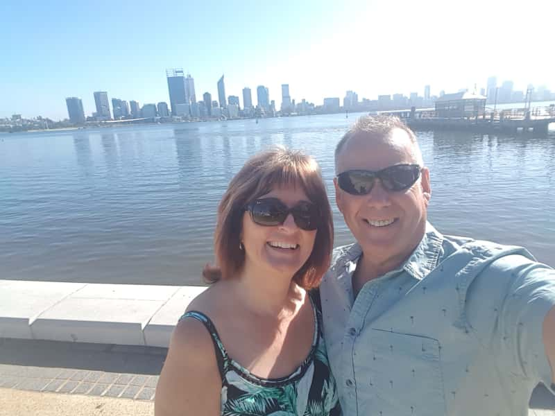 Catherine & Terry from Perth, Western Australia, Australia