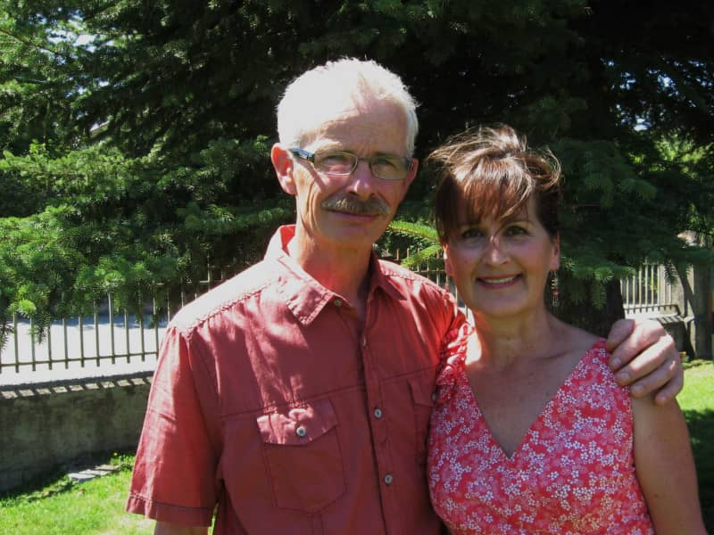 Philomena & Barrie from Fernie, British Columbia, Canada