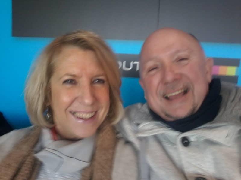 Trevor & Annemie from Waasmunster, Belgium