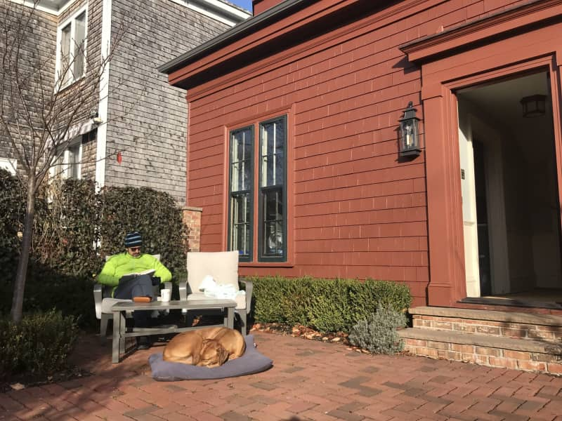 Housesitting assignment in Halifax, Nova Scotia, Canada