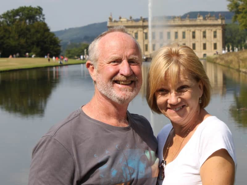 Wendy & Terry from Eden, New South Wales, Australia