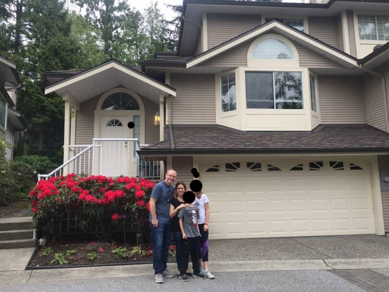 Housesitting assignment in Port Moody, British Columbia, Canada
