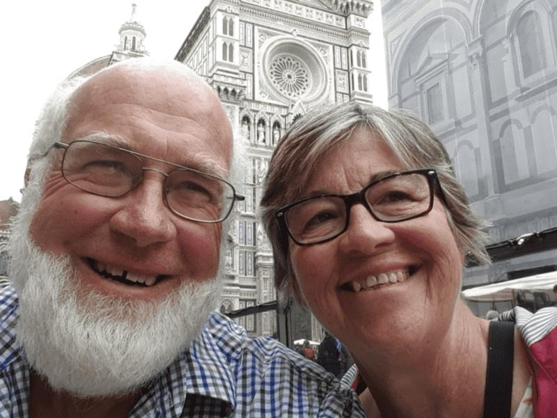 Barbara & Warwick from Castlemaine, Victoria, Australia