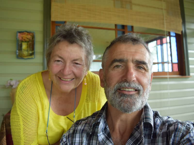Linda & Peter from Kyogle, New South Wales, Australia