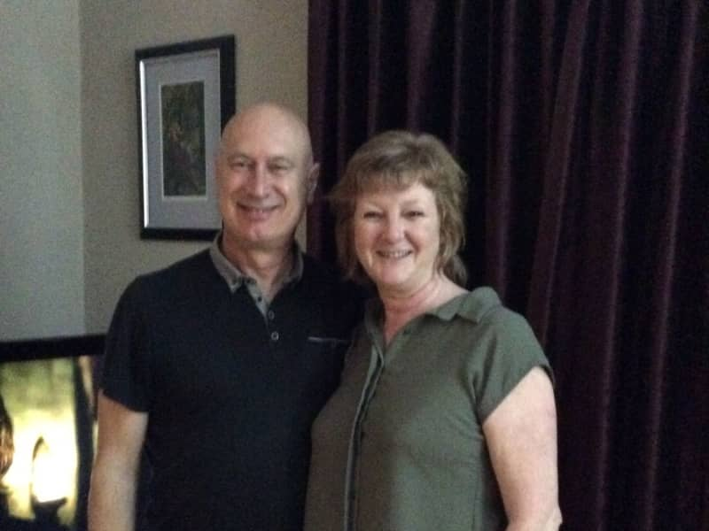 Anne & John from Bury, United Kingdom