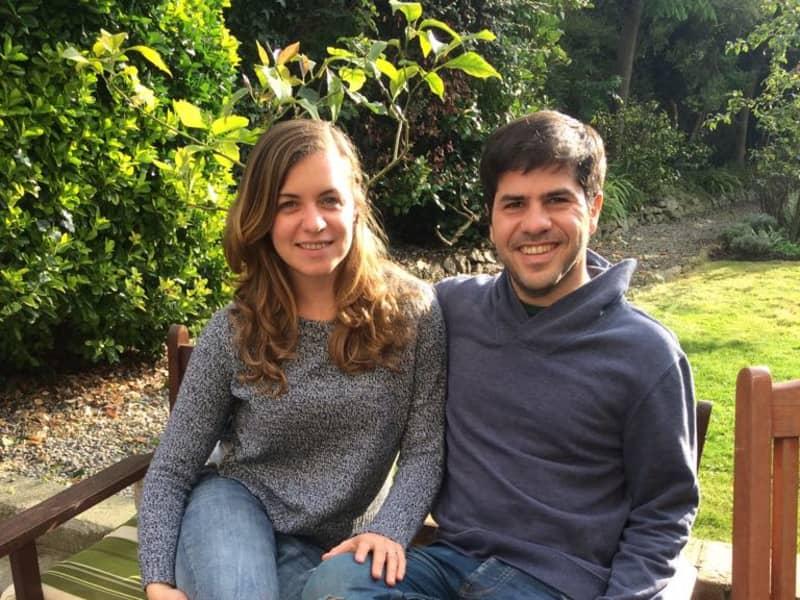 Victoria & Manuel from Dublin, Ireland