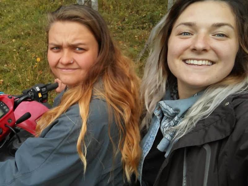Camille & Noémie from Goldendale, Washington, United States