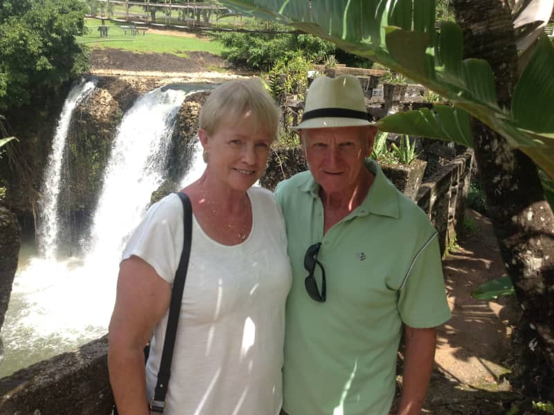 Georgina & John from Meadow Springs, Western Australia, Australia