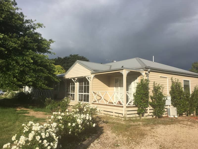 Housesitting assignment in Romsey, Victoria, Australia