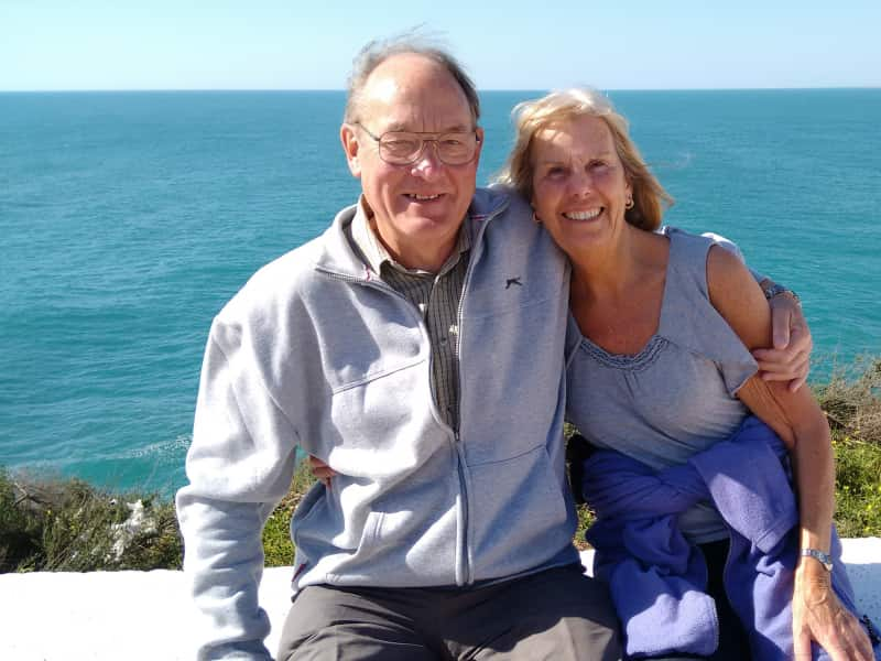Frederick & Trish from Lyon, France