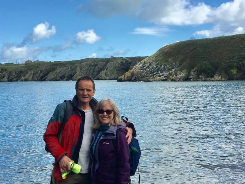 Liz & Harvey from Oswestry, United Kingdom