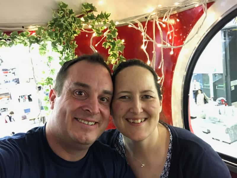 Darren & Rebecca from Twickenham, United Kingdom