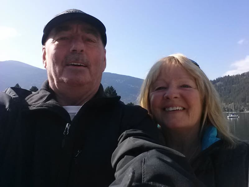 Jim & Susan from Nelson, British Columbia, Canada