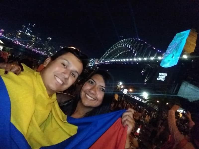 Nataly & Juan sebastian from Bogotá, Colombia