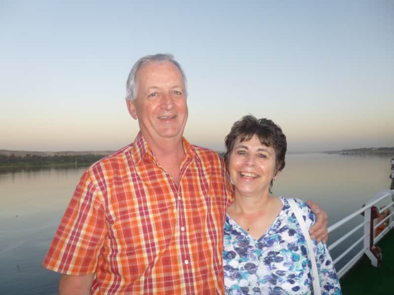 Evelyn & Andy from Perth, United Kingdom