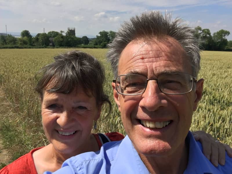 Robin & Carol from Shrewsbury, United Kingdom