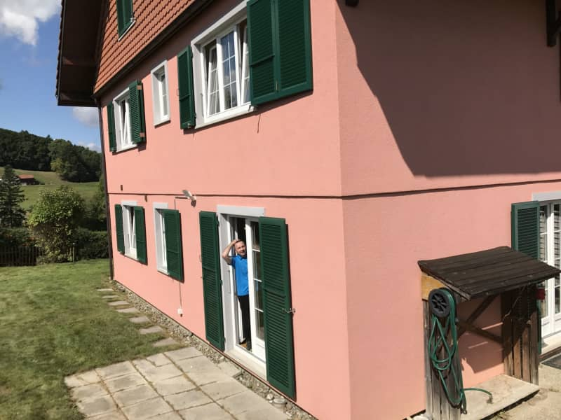 Housesitting assignment in Essertes, Switzerland