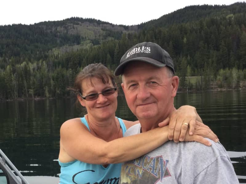 Sheila & Larry from Okanagan Falls, British Columbia, Canada