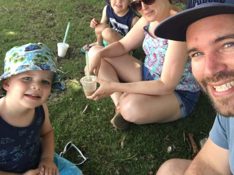 Toby & Melanie from Seaford, Victoria, Australia