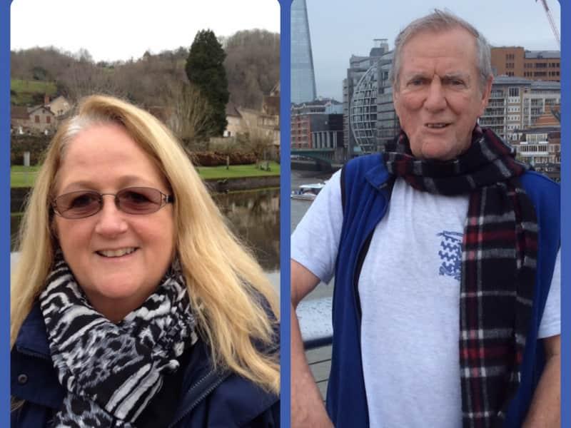 Sheena & Trevor from Argentat, France