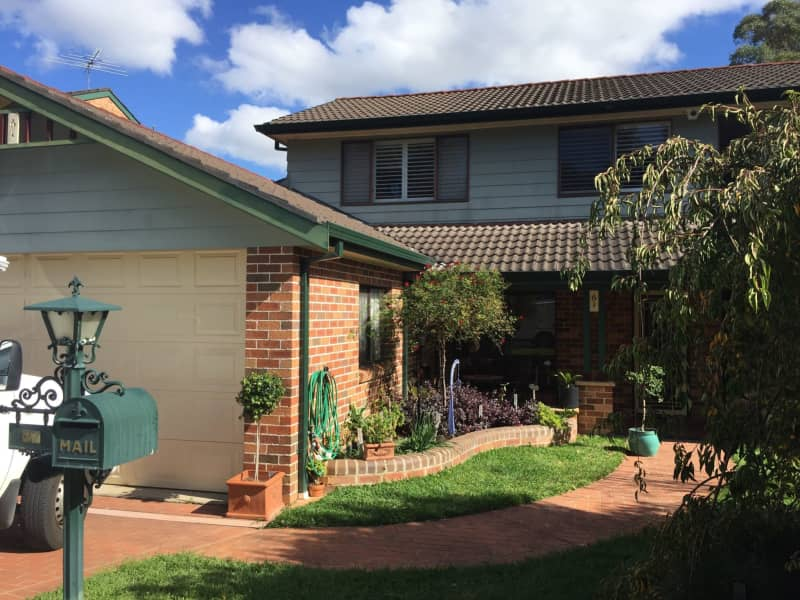 Housesitting assignment in Campbelltown, New South Wales, Australia
