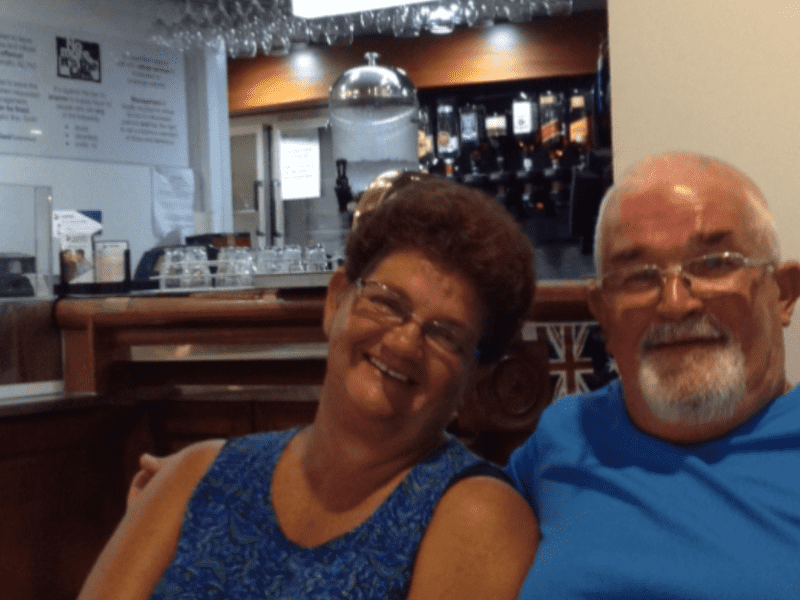 Barbara & Christopher from Mount Isa, Queensland, Australia