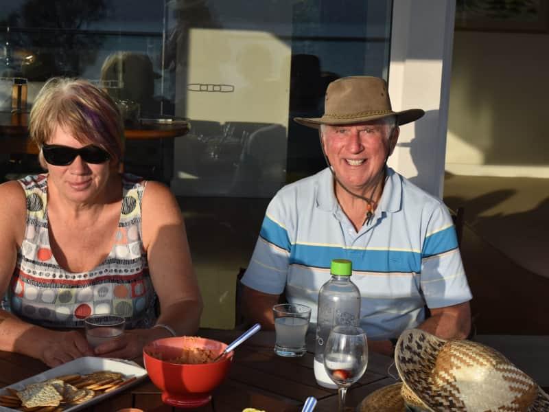 Daryl & Elsje from West Hobart, Tasmania, Australia