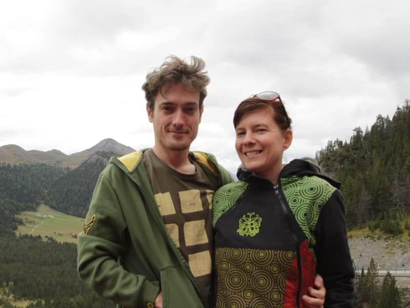 Agnes & Andrew from Birdlip, United Kingdom