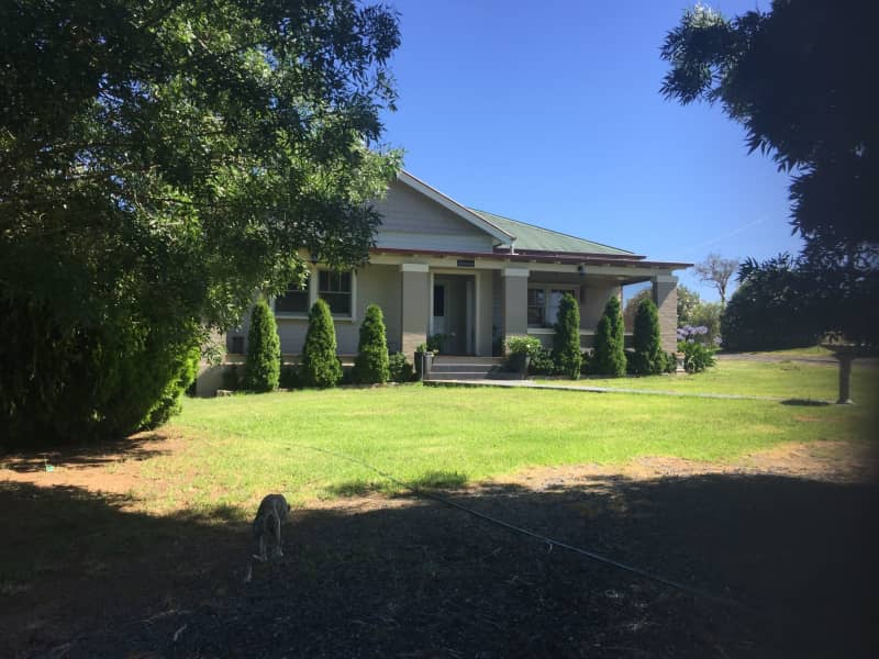 Housesitting assignment in Jugiong, New South Wales, Australia
