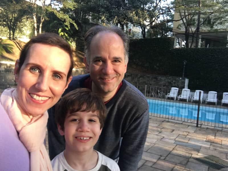 Rogério & Claudia from São Paulo, Brazil