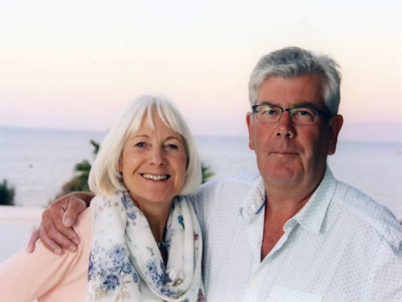 Sandra & Richard from Wells, United Kingdom