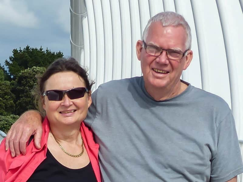 Graeme & Ellen from Auckland, New Zealand