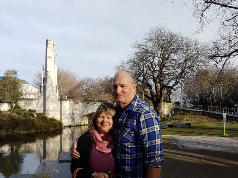 Carole & James from Surfdale, New Zealand