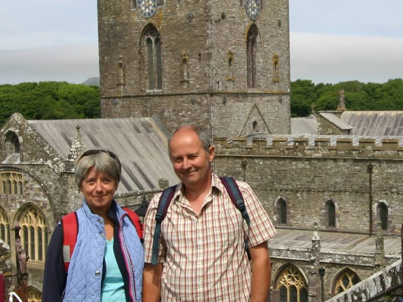 Sue & Gary from Goodwick, United Kingdom