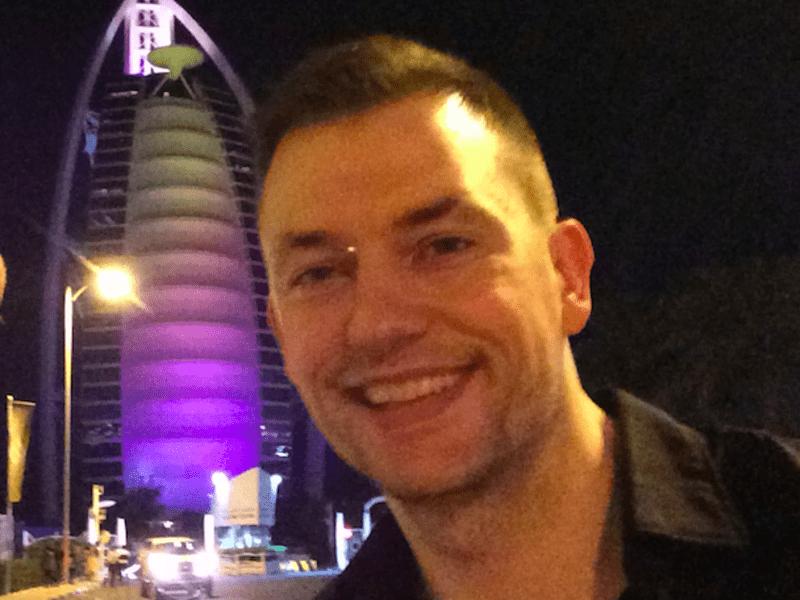 Thomas friis from Dubai, United Arab Emirates