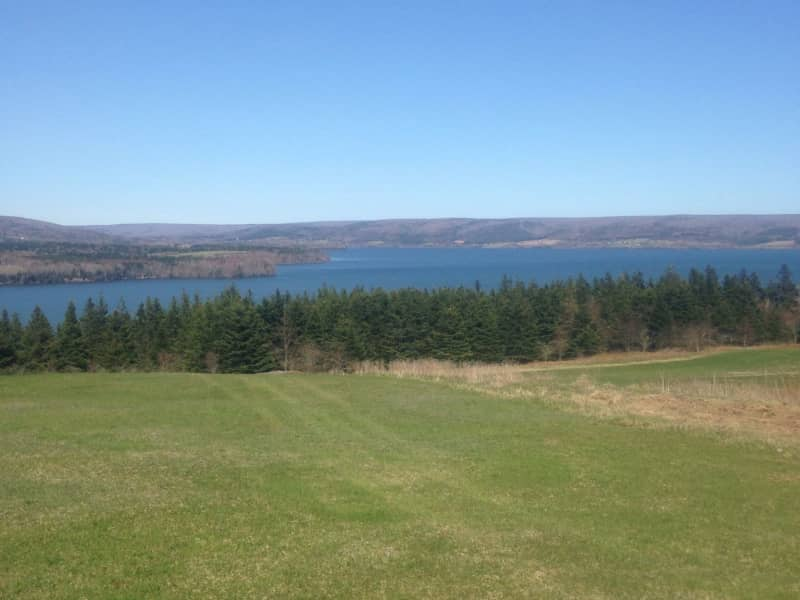 Housesitting assignment in Inverness, Nova Scotia, Canada